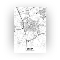 Breda print - Zwart Wit stijl