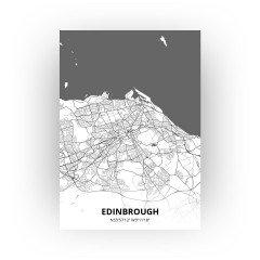 Edinbrough print - Zwart Wit stijl