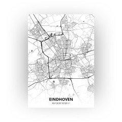 Eindhoven print - Zwart Wit stijl