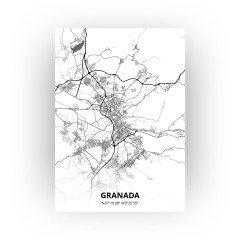 Granada print - Zwart Wit stijl
