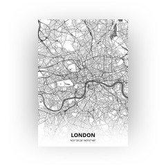 London print - Zwart Wit stijl