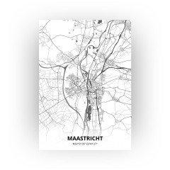 Maastricht print - Zwart Wit stijl