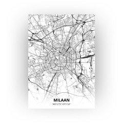 Milaan print - Zwart Wit stijl