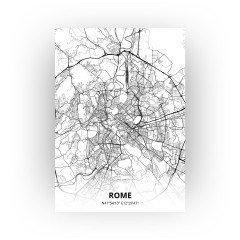 Rome print - Zwart Wit stijl