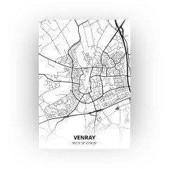 Venray print - Zwart Wit stijl