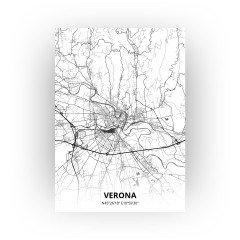 Verona print - Zwart Wit stijl