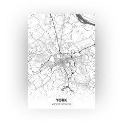 York print - Zwart Wit stijl