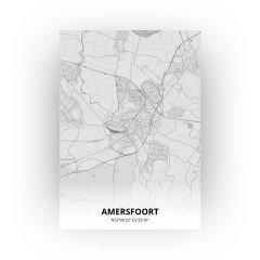 Amersfoort print - Tekening stijl