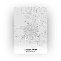 Apeldoorn print - Tekening stijl