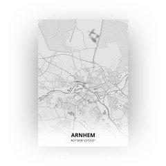 Arnhem print - Tekening stijl