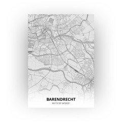 Barendrecht print - Tekening stijl