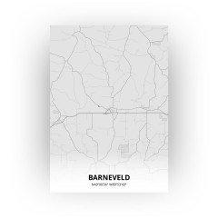 Barneveld print - Tekening stijl