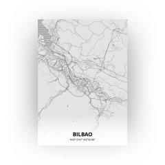 Bilbao print - Tekening stijl