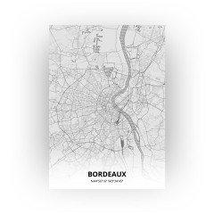 Bordeaux print - Tekening stijl