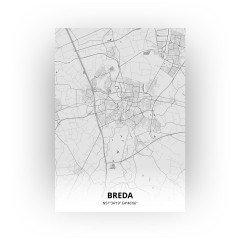 Breda print - Tekening stijl