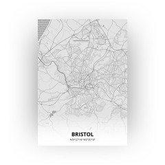 Bristol print - Tekening stijl