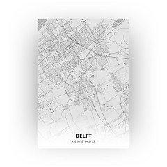 Delft print - Tekening stijl