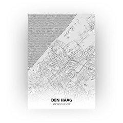 Den Haag print - Tekening stijl