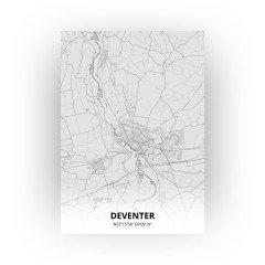 Deventer print - Tekening stijl