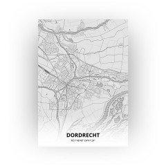 Dordrecht print - Tekening stijl