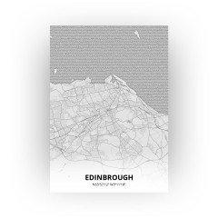 Edinbrough print - Tekening stijl