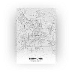 Eindhoven print - Tekening stijl