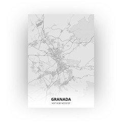 Granada print - Tekening stijl