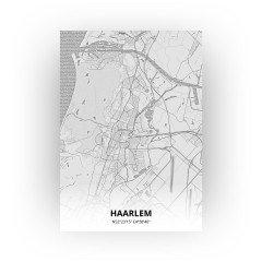 Haarlem print - Tekening stijl