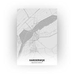 Harderwijk print - Tekening stijl