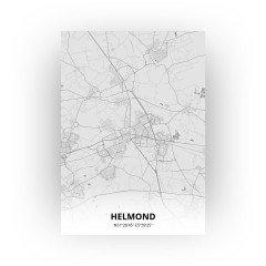Helmond print - Tekening stijl