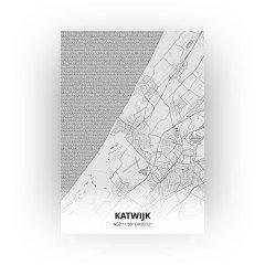Katwijk print - Tekening stijl