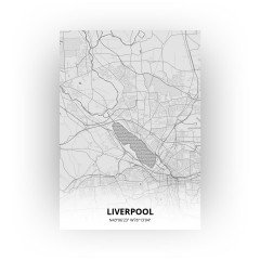Liverpool print - Tekening stijl