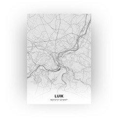 Luik print - Tekening stijl