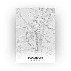 Maastricht print - Tekening stijl