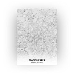 Manchester print - Tekening stijl