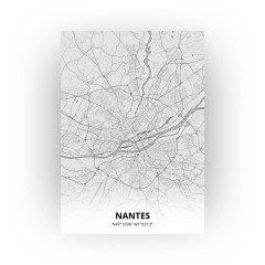 Nantes print - Tekening stijl