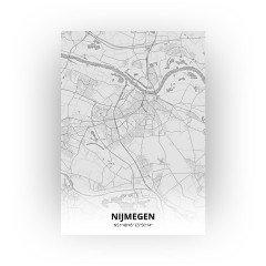 Nijmegen print - Tekening stijl