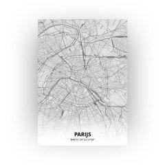 Parijs print - Tekening stijl