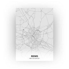 Reims print - Tekening stijl
