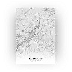 Roermond print - Tekening stijl