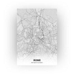 Rome print - Tekening stijl