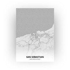 San Sebastian print - Tekening stijl