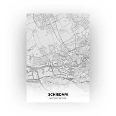 Schiedam print - Tekening stijl