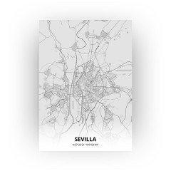 Sevilla print - Tekening stijl