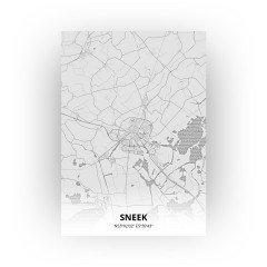 Sneek print - Tekening stijl