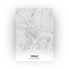 Venlo print - Tekening stijl