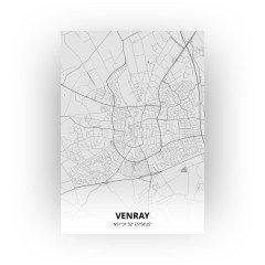 Venray print - Tekening stijl