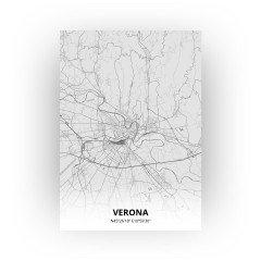 Verona print - Tekening stijl