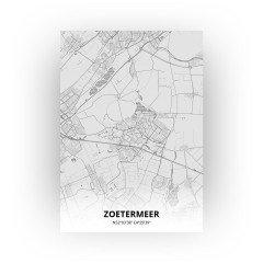 Zoetermeer print - Tekening stijl